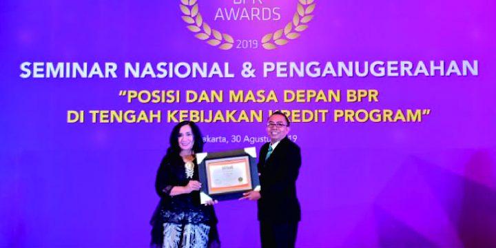 PT. BPR Naga Raih INFO BANK BPR AWARDS Tahun 2019